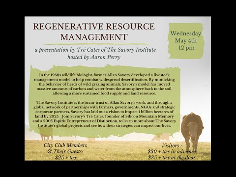 Regenerative Resource Managment