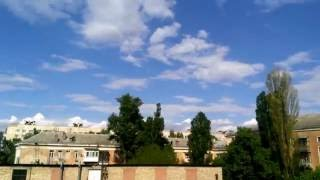 Time Lapse w3 2016.5.23 Kiev Ukraine Sunny Sky