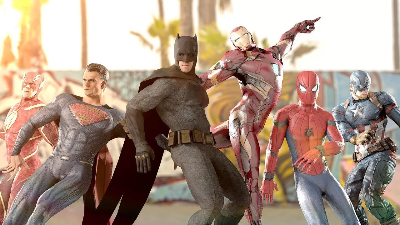 MARVEL vs  DC | EPIC DANCE BATTLES! ( THE AVENGERS vs  JUSTICE LEAGUE )