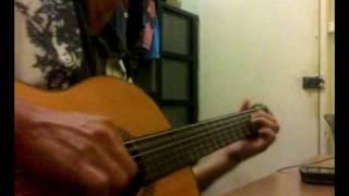 Wedding Dress - Tae Yang - Guitar Solo by Handoyomia