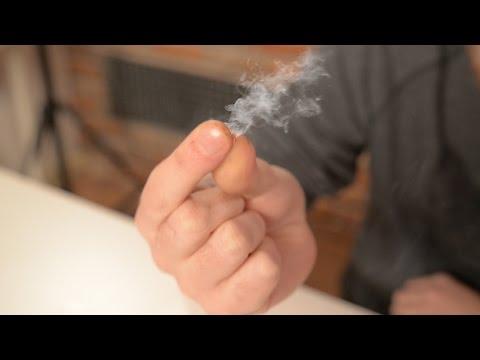Rauchende Finger Trick - So gehts!