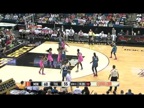 Game Recap : Minnesota Lynx vs Tulsa Shock