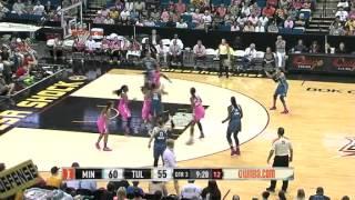 Game Recap : Minnesota Lynx vs Tulsa Shock