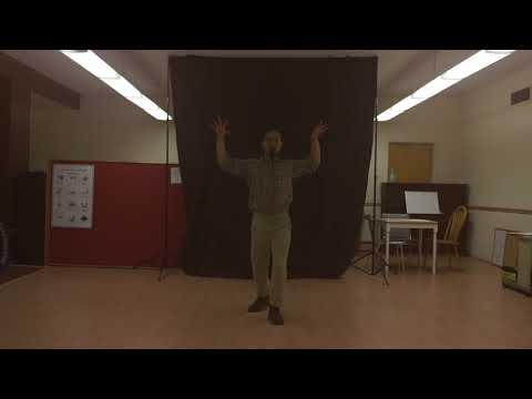 Bridgeway House Flash Mob rehearsal video pt 1 of 2
