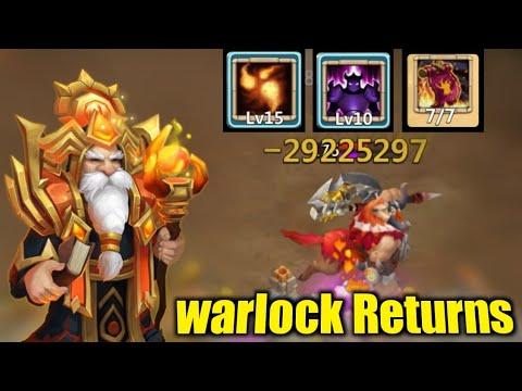 Warlock | OP Sniper Returns | 29 Million Shot | Fully Maxed | Full Accuracy | Castle Clash