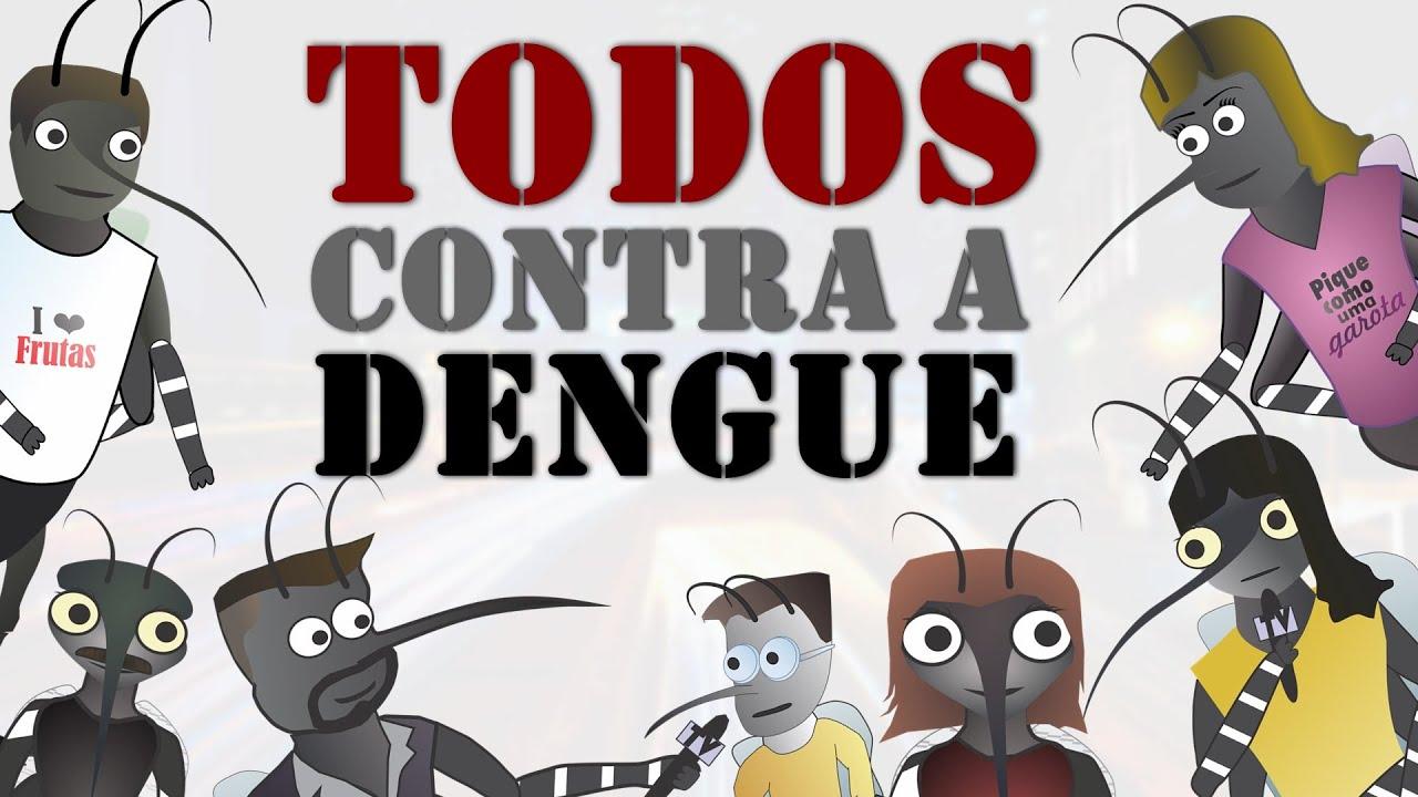 Mundo Da Dengue Todos Contra A Dengue Animacao Youtube