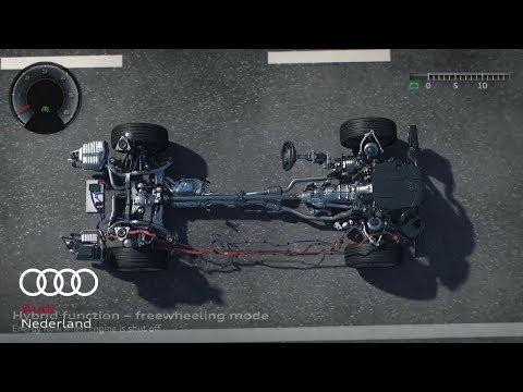Mild Hybrid Electric Vehicle (MHEV) - Animatie - De nieuwe Audi A8