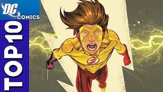 Top 10 Kid Flash Funny Moments From Young Justice