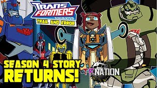 Transformers Animated RETURNS! With Season 4 Storyline (TF NATION 2017)
