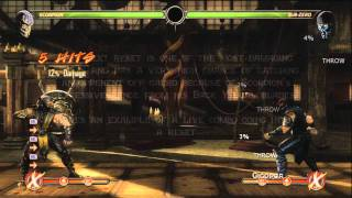 Mortal Kombat 9 Scorpion Tutorial - The Basics GET OVER HERE and learn the basics of Scorpion