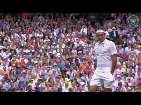 2016, Day 7 Highlights, Roger Federer vs Steve Johnson