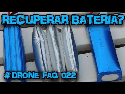 RECUPERAR bateria LIPO #Drone FAQ 022