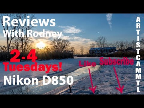 2 4 Tuesdays! Life in Quebec: The movie, Nikon D850 initial tests.