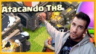 LOGROS en ATACANDO TU ALDEA TH 8 #108 - CLASH OF CLANS