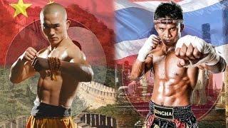 Тайский бокс против Кунг Фу(Бесплатные и проверенные 4 видео урока покажут как Освоить идеальную технику Муай Тай уже через 2 недели,..., 2015-11-12T05:10:03.000Z)