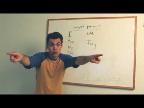 Subject Pronouns (Beginner, Level 1)
