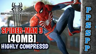 New (40 Mb) Download Spiderman 3 For Your Android Highly Compressed | PPSSPP | ISO, CSO | Hindi