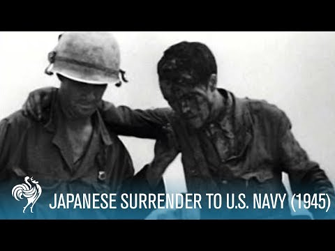 Japanese Surrender To Us Navy (1945)