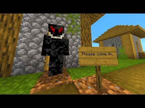 Never accept invitations in Minecraft.. (Scary)
