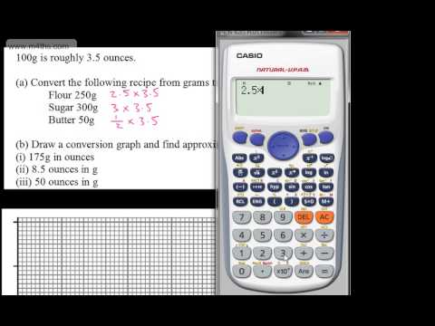 GCSE Maths - Conversion Graphs And Questions (Currency & Weight) - Higher Foundation
