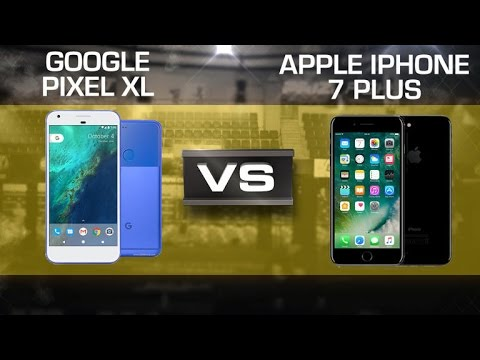 Google Pixel XL vs. iPhone 7 Plus
