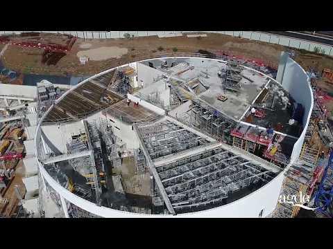 Construction du Palais des Congrès et du Casino - Épisode 1 - Agde Le Cap d'Agde