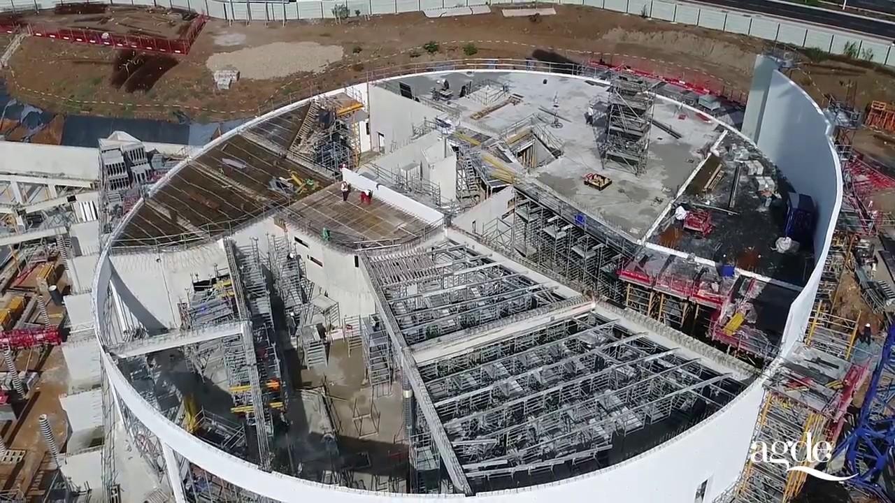 Construction du palais des congr s et du casino pisode for Projet cap d agde 2020