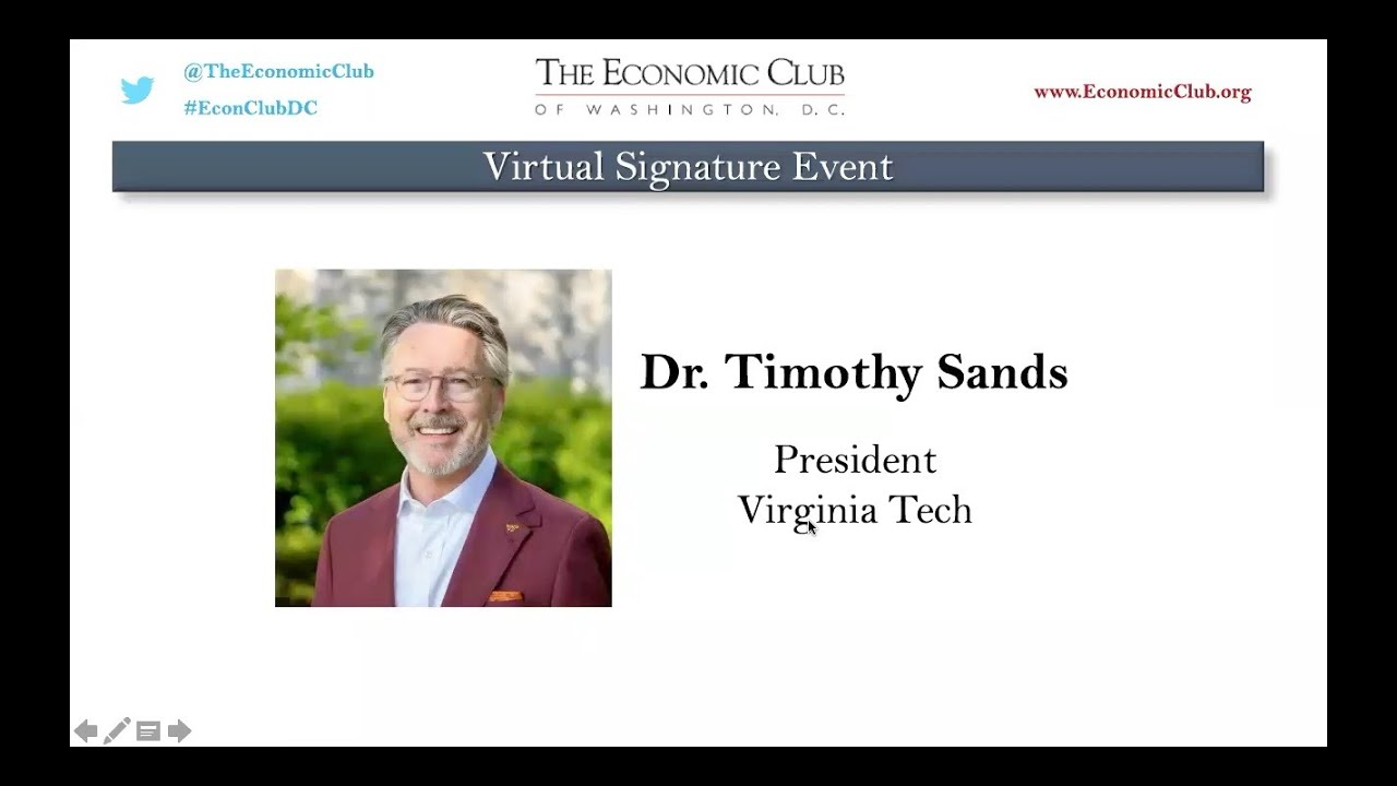 Dr. Timothy Sands