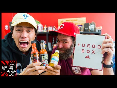 SUPER HOTS, HOT SAUCE BOX!! | Fuego Box
