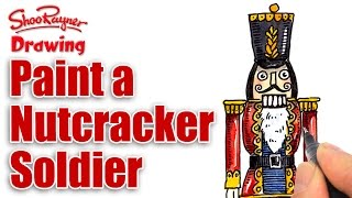 How to Paint a Nutcracker Soldier