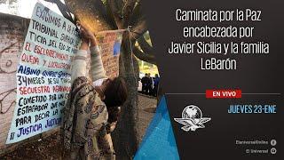 Caminata por la paz encabezada por Javier Sicilia y la familia LeBarón (3)