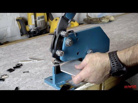 Metal Shear Restoration - Diy Hand Sheet Cutter Restoration