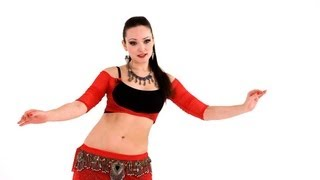 How to Do a Figure 8 with a Twist   Belly Dance