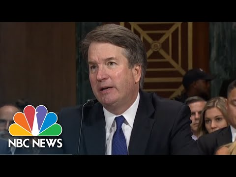 Leahy Grills Brett Kavanaugh On Whether He Is The Person Referenced In Friend's Book | NBC News