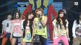 4Minute - Dream racer (English sub + Karaoke lyrics + 3 performances)