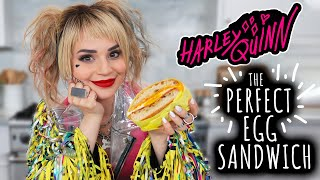 Harley Quinn's PERFECT Egg Sandwich Recipe - NERDY NUMMIES