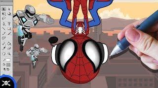 See James Draw - Zack Scott's Spider-Man!