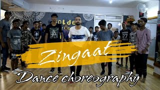 Zingaat hindi | Dhadak | Dance choreography | choreography Amar | Golden steppers | Ranchi | jharkha