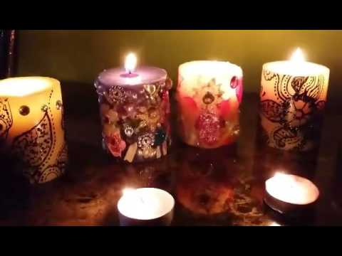 how to decorate your home with candles how to make a candle beautiful design at home easy step by 13662