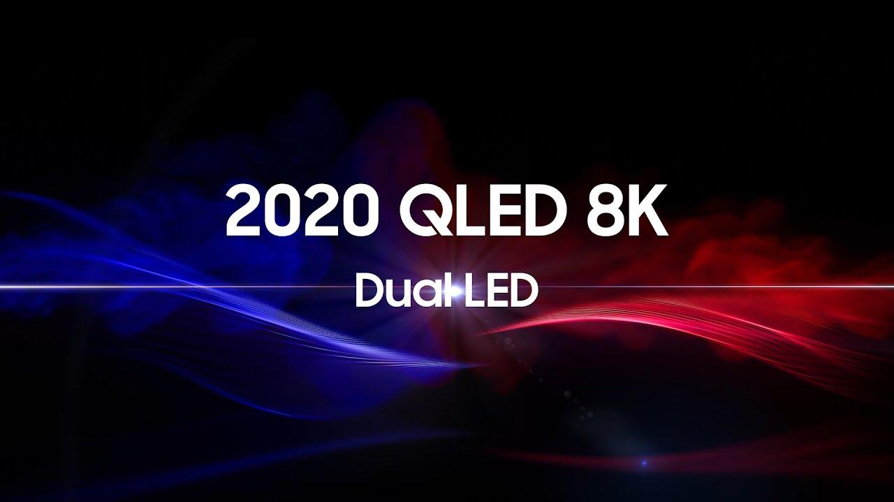 2020 QLED 8K: Мощь Dual LED | Samsung