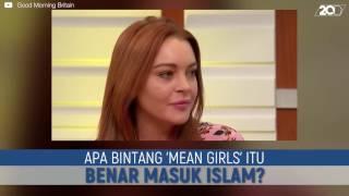 Lindsay Lohan Buka Suara Terkait Kabar Masuk Islam