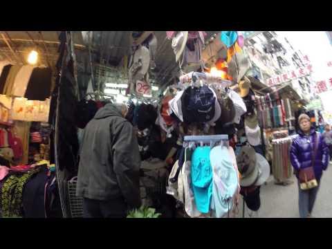 【Hong Kong Walk Tour】Fuk Wa Street (street market)