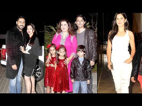Farah Khan's 50th birthday bash: Bollywood celebrities in full attenda!!!