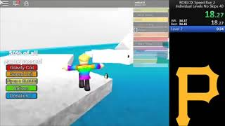 [FWR] Roblox Speed Run 2 Level 2 34.33 1/8/2019