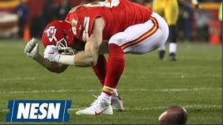 Travis Kelce Goes Off On Refs After Chiefs' Loss To Steelers