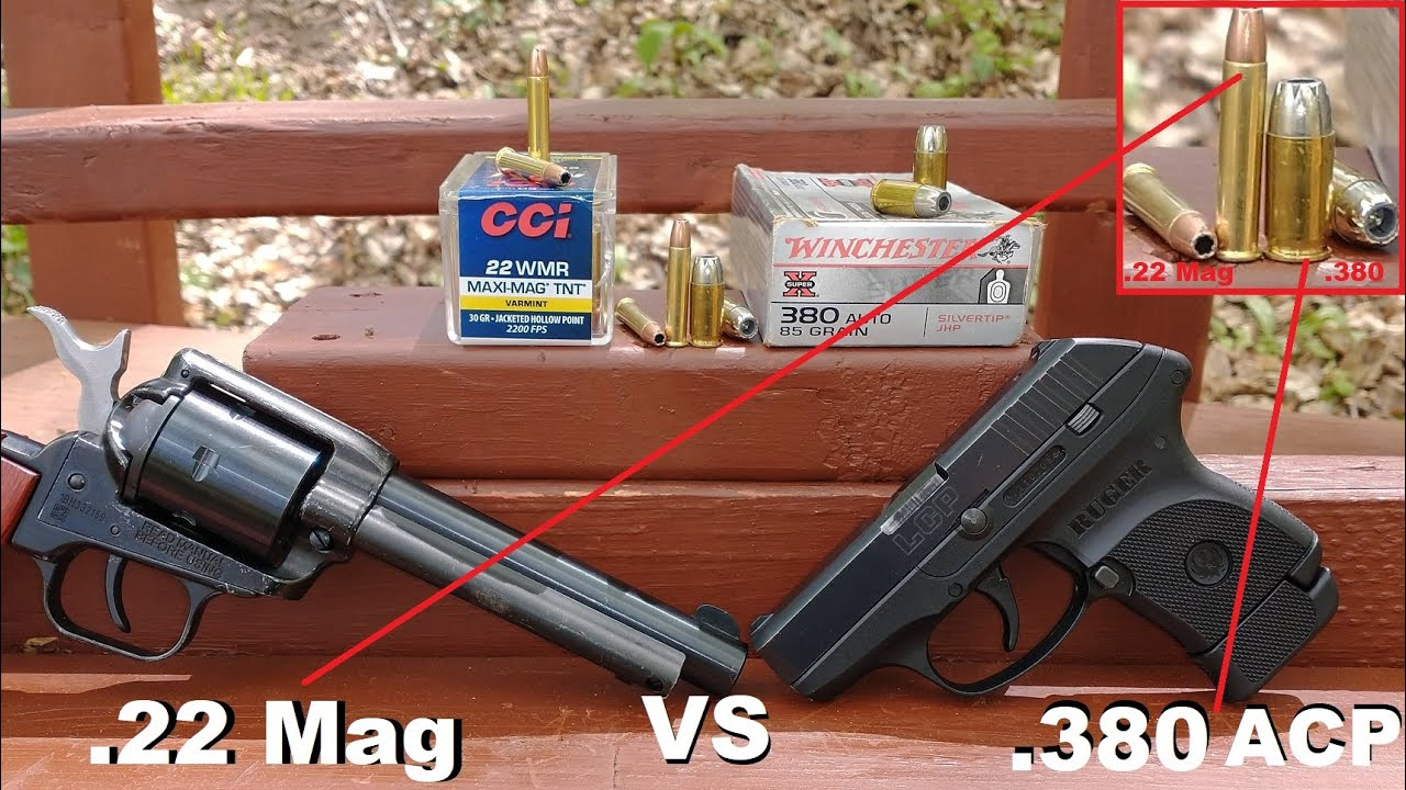 Does .22 Magnum Rival .380 ACP? CCI Maxi-Mag TNT