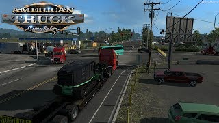 ATS - Mulcher Delivery from Astoria to Spokane (Washington and Forest Machinery DLC)