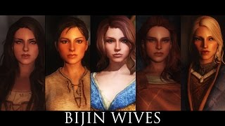 TES V - Skyrim Mods: Bijin Wives