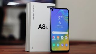 "Samsung Galaxy A8s ""Infinity O"" Unboxing and Review"