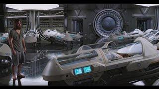 【宇哥】6分钟看完耗资1亿美元的科幻片《太空旅客》只有你一人的飞船,你是否会从5千人里选美女唤醒来陪你?